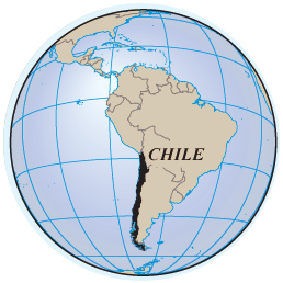 Chile Maps Flag Capital Santiago Rivers And Roads Easten Island