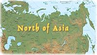 Central Asia Map - Caspian Sea