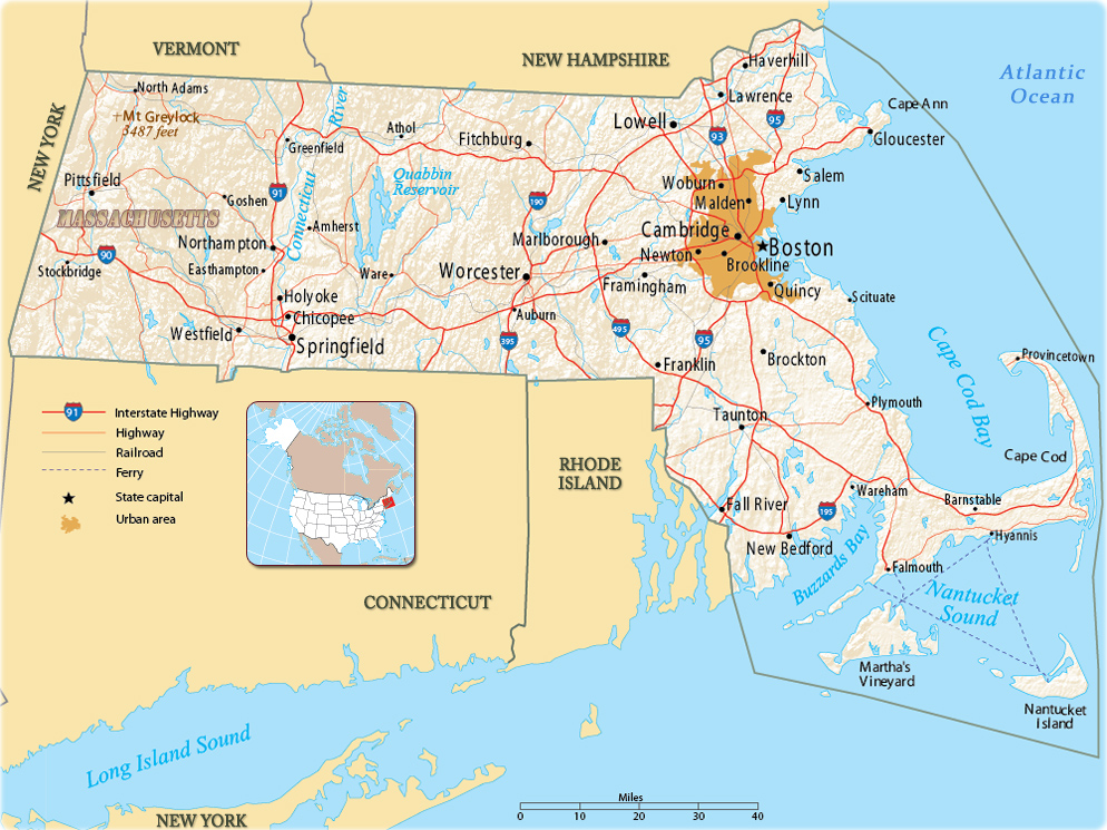 Map of Machusetts Machusetts New Hampshire Map on